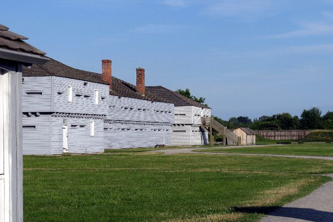 Fort George National Historic Site of Canada, Niagara-on-the-Lake, Canada