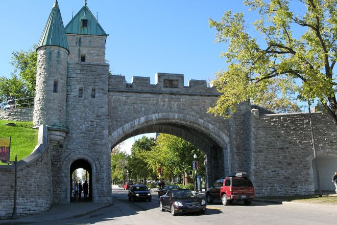 Fortifications of Quebec National Historic Site, Quebec City, Canada