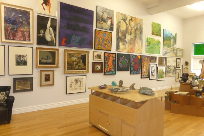 Gallery de Boer, Fine Art & Jazz, Owen Sound, Canada