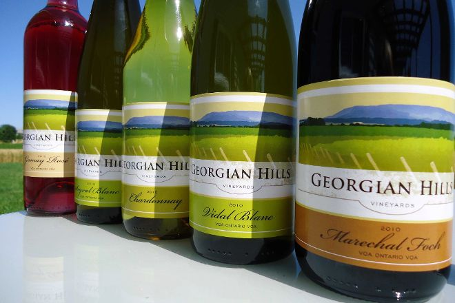 Georgian Hills Vineyards, Blue Mountains, Canada