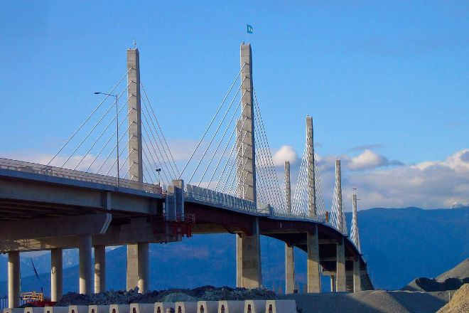 Golden Ears Bridge, Pitt Meadows, Canada