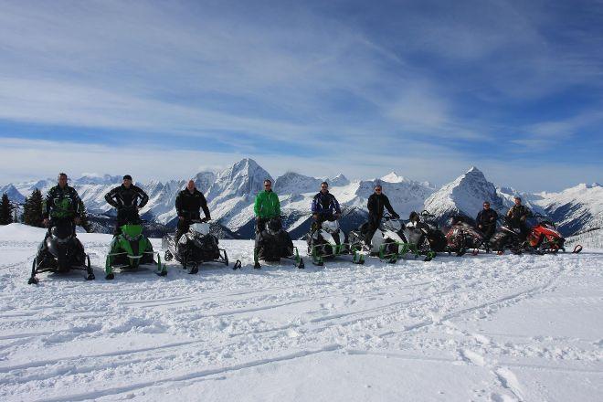 Golden Snowmobile Rentals & Tours, Golden, Canada