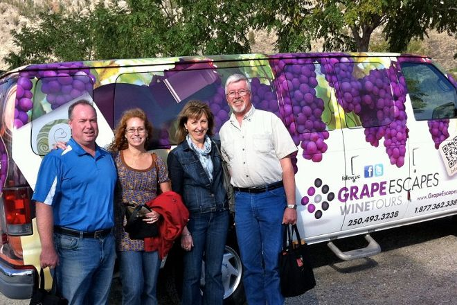 Grape Escapes Wine Tours, Penticton, Canada
