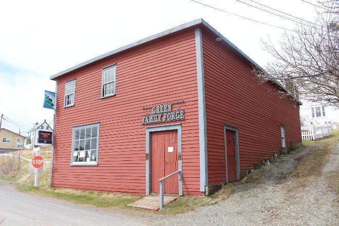Green Family Forge, Trinity, Canada