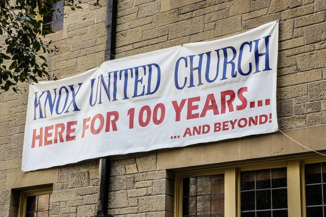 Knox United Church, Calgary, Canada