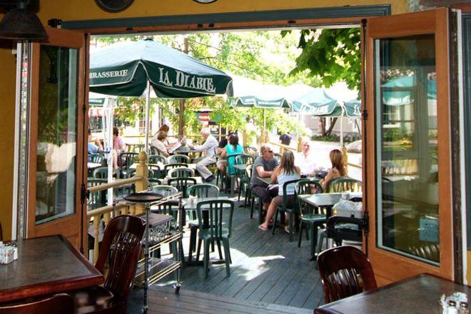 La Diable - micro brasserie, Mont Tremblant, Canada