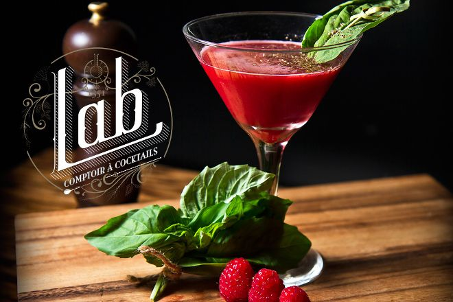 Lab, Comptoir a Cocktails, Montreal, Canada