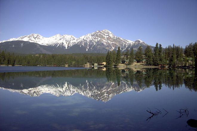 Lac Beauvert, Jasper National Park, Canada