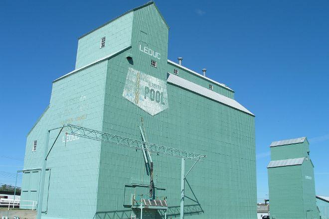 Leduc Heritage Grain Elevator, Leduc, Canada