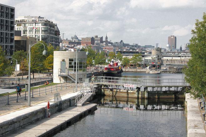 Lieu Historique National du Canal-de-Lachine, Montreal, Canada