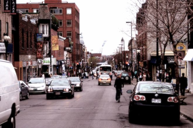 Mont Royal Avenue, Montreal, Canada