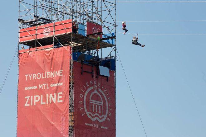 MTL Zipline, Montreal, Canada