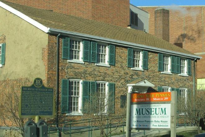 Museum Windsor – Maison Francois Baby House, Windsor, Canada