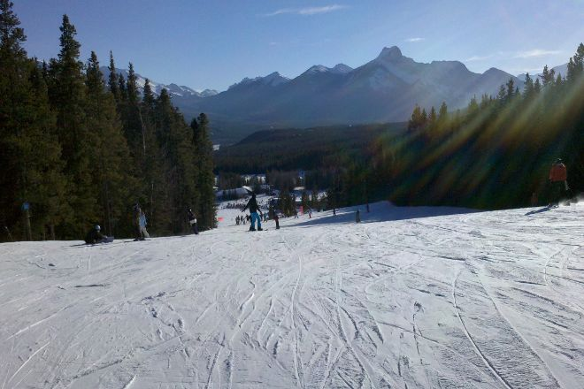 Nakiska Ski Resort, Kananaskis Country, Canada