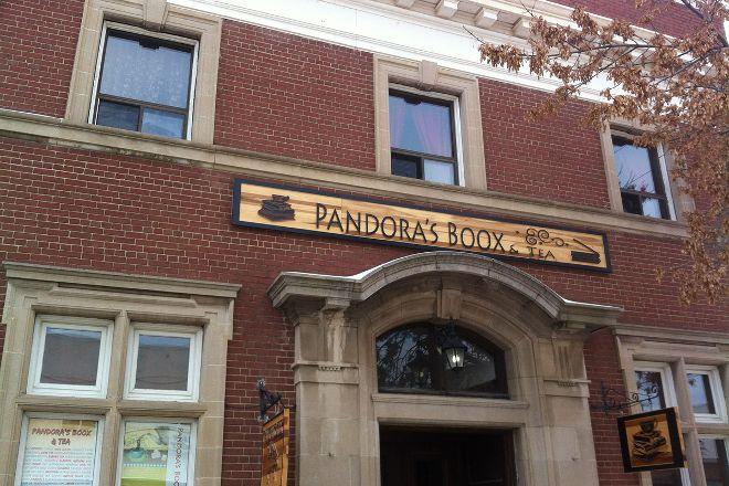 Pandora's Boox & Tea, Olds, Canada