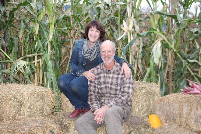 Pete Murray's Corn Farm, Chase, Canada