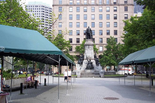 Phillips Square, Montreal, Canada