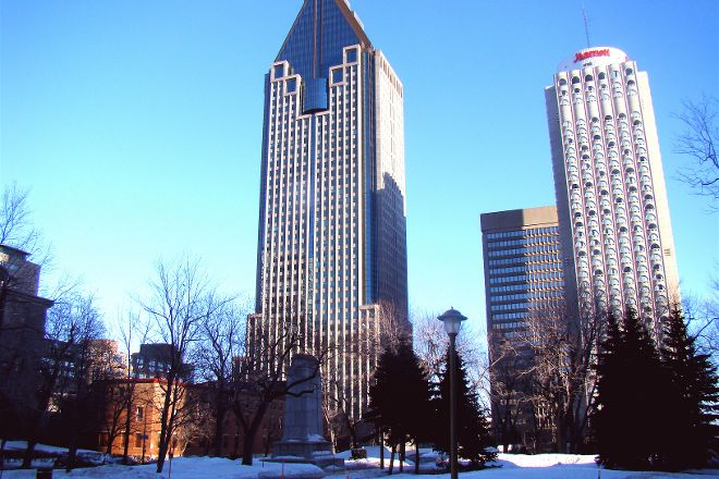 Place du Canada, Montreal, Canada