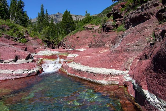 Red Rock Canyon, Waterton Lakes National Park, Canada
