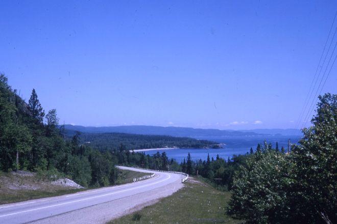 Route du Fleuve, Baie-St-Paul, Canada