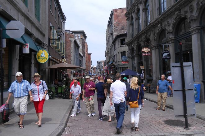 Rue St-Paul, Montreal, Canada