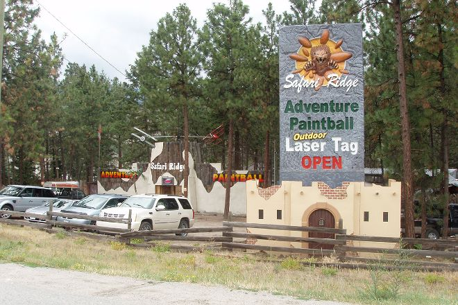 Safari Ridge Adventure Park, West Kelowna, Canada