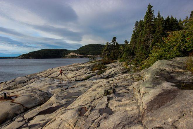 Sentier de la Pointe-de-l'Islet Trail, Tadoussac, Canada