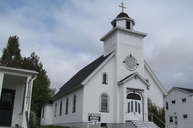 St. Michael's Catholic Church, Baddeck, Canada