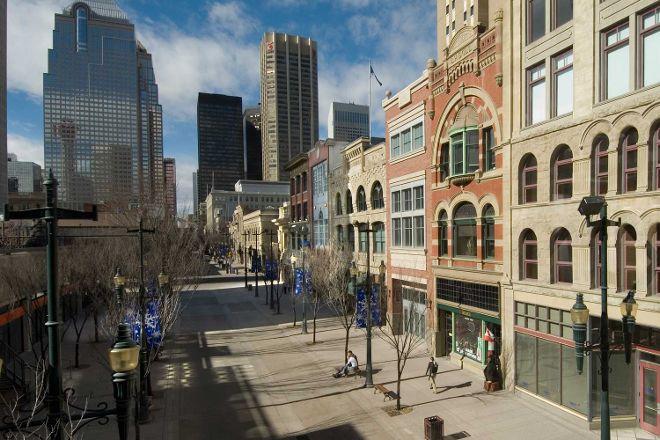 Stephen Avenue Walk, Calgary, Canada
