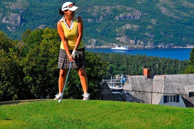Tadoussac Golf Club, Tadoussac, Canada
