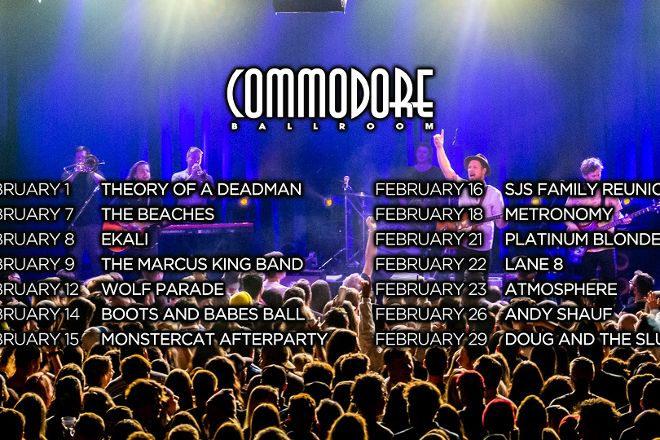 The Commodore Ballroom, Vancouver, Canada