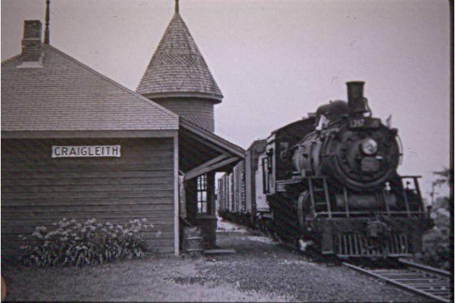 The Craigleith Heritage Depot, Blue Mountains, Canada