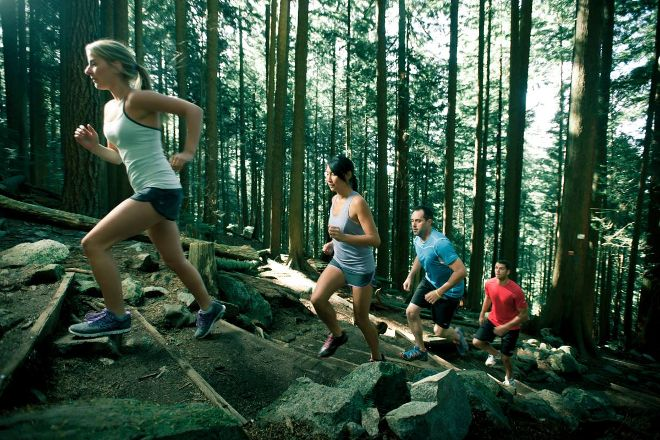 The Grouse Grind, North Vancouver, Canada