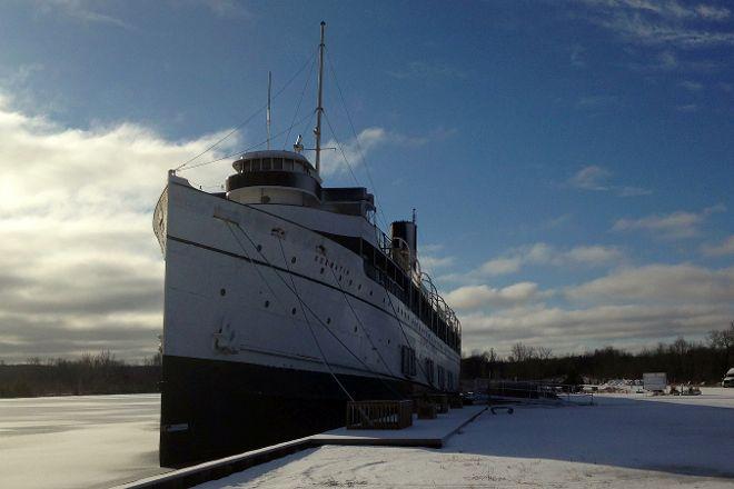 The SS Keewatin, Port McNicoll, Canada