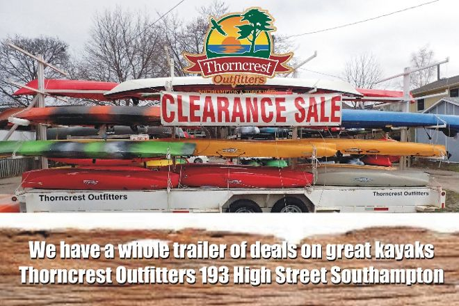 Thorncrest Outfitters, Southampton, Canada