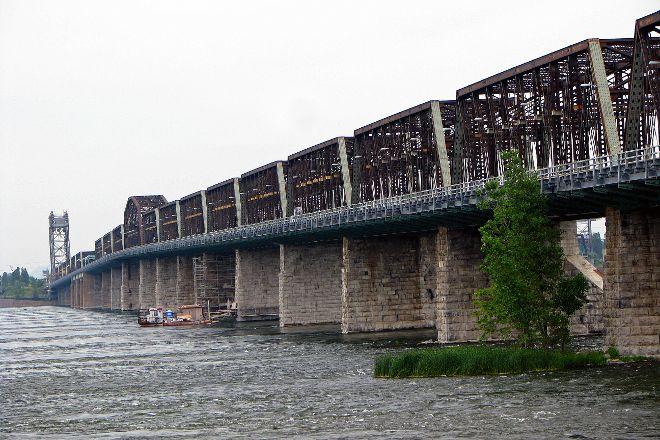 Victoria Bridge, Montreal, Canada