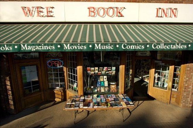 Wee Book Inn, Edmonton, Canada