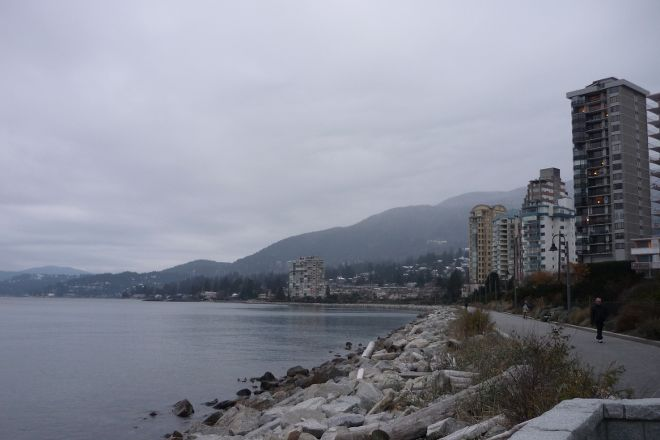 West Vancouver Seawall, West Vancouver, Canada