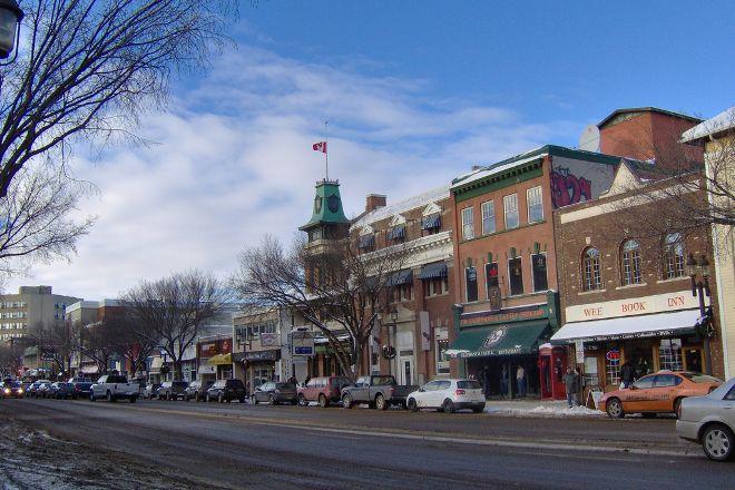 Whyte Avenue, Edmonton, Canada