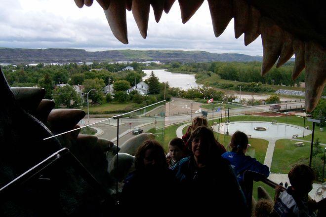 World's Largest Dinosaur, Drumheller, Canada