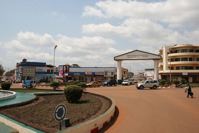 Place de la Republique, Bangui, Central African Republic