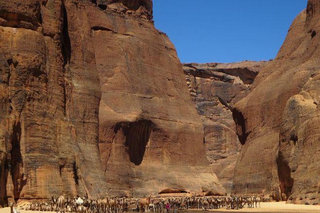 Guelta d'Archei, Fada, Chad