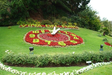 Flower Clock (Reloj de Flores), Vina del Mar, Chile