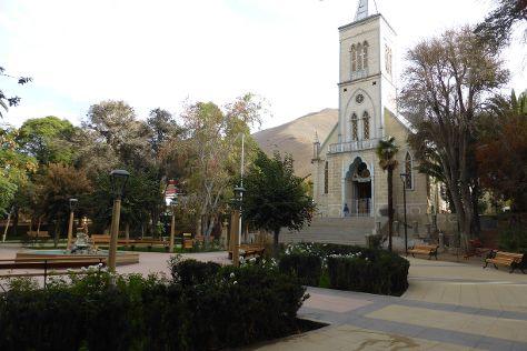 Iglesia de Pisco de Elqui, Pisco Elqui, Chile