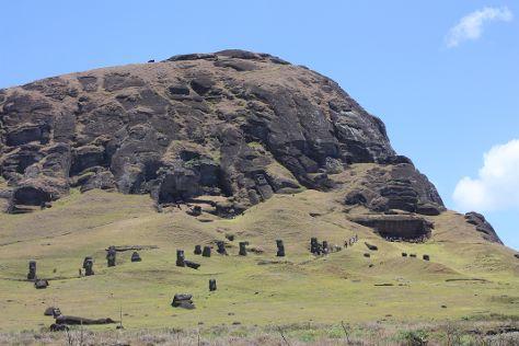 Rano Raraku, Easter Island, Chile