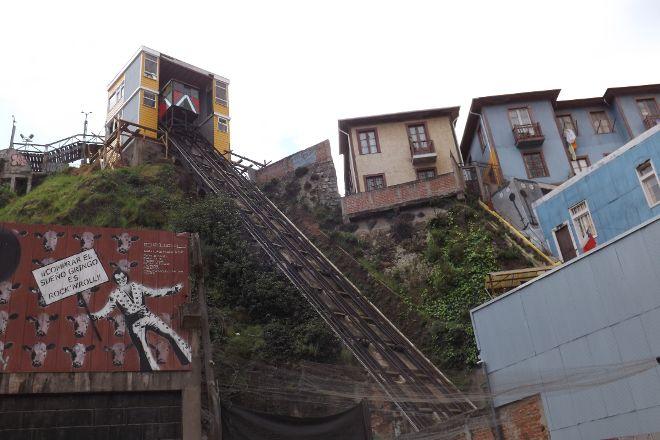 Ascensor Reina Victoria, Valparaiso, Chile