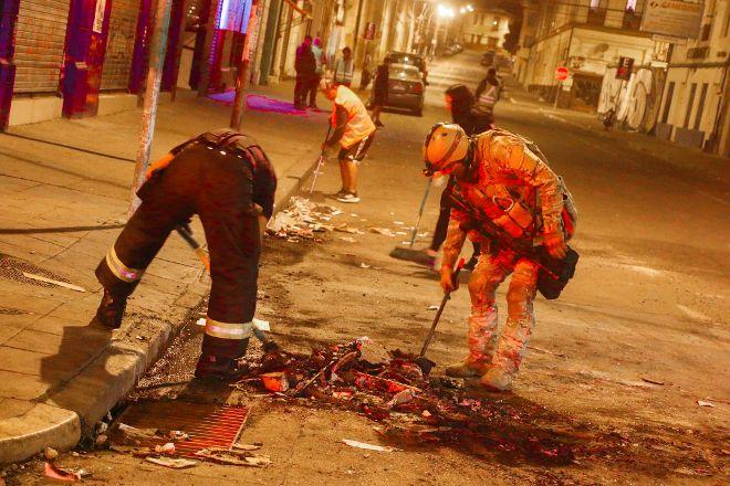 Bomba George Garland - Cuerpo de Bomberos de Valparaiso, Valparaiso, Chile