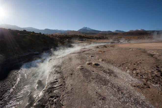 Geyser del Tatio, San Pedro de Atacama, Chile