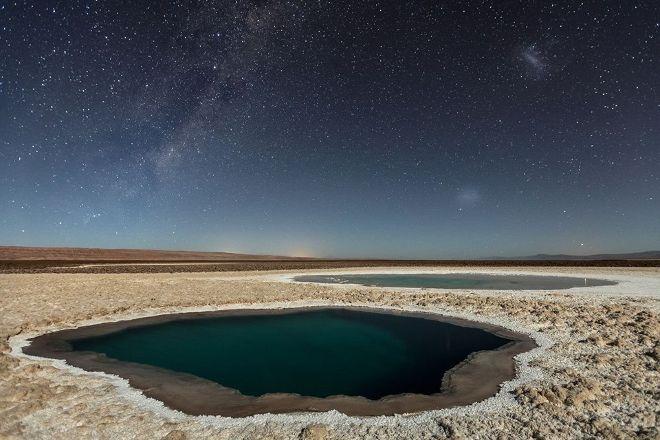 Lagunas Baltinache, San Pedro de Atacama, Chile
