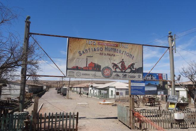 Oficina Salitrera Santiago Humberstone, Iquique, Chile